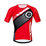 Jersey temático de Ciclismo Gear para Hombres,Camisa de Bicicleta Transpirable de Secado rápido con impresión Panda,Jerseys de Bicicleta de Carretera elásticos antisudor de Verano