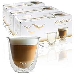 Mövenpick 6 x Cappuccino Gläser