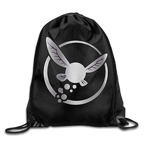 YuYfashions Rucksack mit Kordelzug Outdoor Zelda Navi Platinum Style Drawstring Backpack