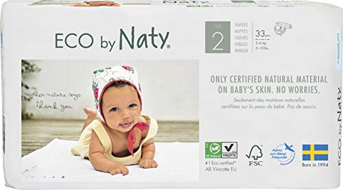 Naty by Nature Babycare - Couches Taille 2 - Lot de 3 paquets (99 couches)