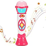 ThinkMax Microphone for Toddler, Kids Microphone Toy with...