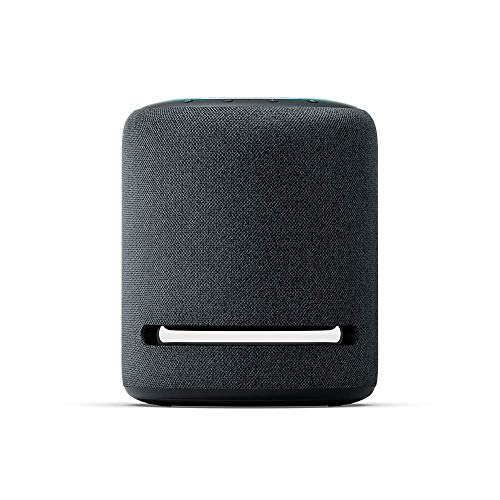 Echo Studio - Smart speaker with high-fidelity audio, Dolby Atmos and Alexa (Black)