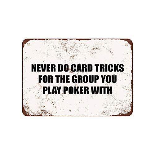 CELYCASY nooit doen kaart trucs voor de groep die je speelt Poker met. - Vintage look 8