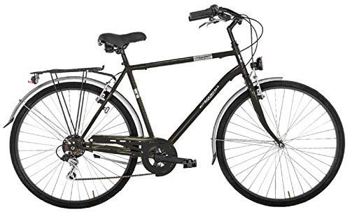 Alpina Bike Moving, Bicicletta Trekking 6v Uomo, Nero, 28'