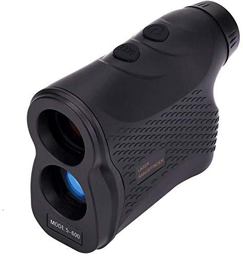 SeeKool 600m Telémetro de Golf, Multifunciones Laser Rangefinder, 6X Aumento, con Bloqueo de Bandera, Distancia, Medición de Velocidad, para Golf, Caza, Escalada en Roca al Aire Libre