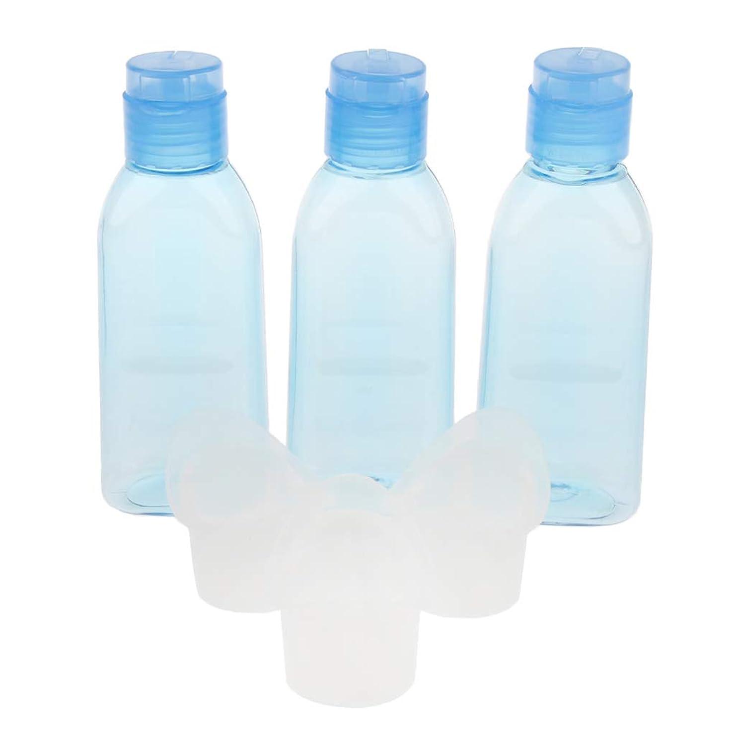 配置天国暫定Perfeclan 3本 アイウォッシュカップ プラスチックボトル 詰め替え可 旅行 洗浄ボトル 洗眼容器
