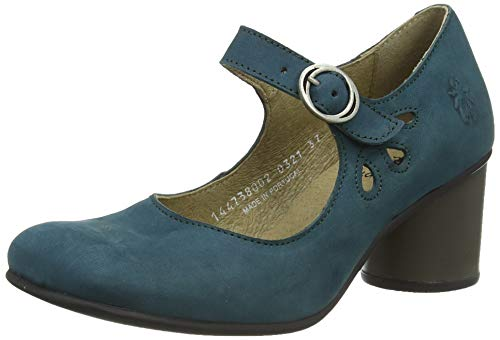 Fly London Sloe738fly, Chaussure Baby Femme, Bleu...