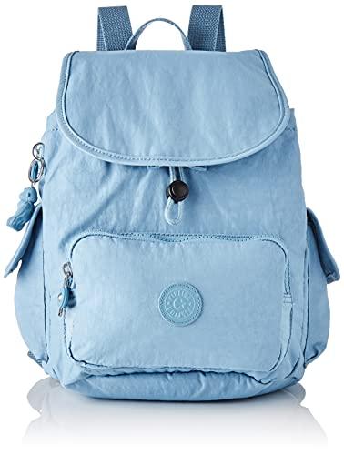 Kipling City Pack S, Mochila, Bolso para Mujer, Niebla Azul, One Size