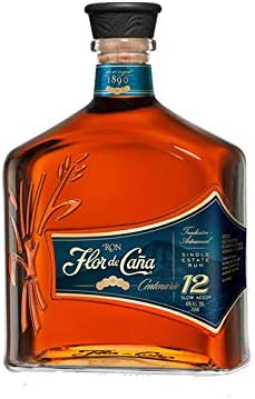 Ron Flor de Caña Centenario 12 años de 70 cl - DO Nicaragua - Bodegas Osborne (Pack de 1 botella)