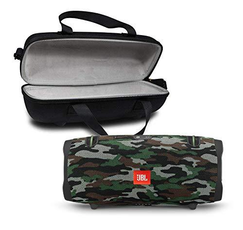 JBL Xtreme 2 Portable Bluetooth Waterproof Speaker Bundle with Hardshell Storage Case - Camouflage