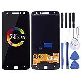 Dmtrab para Pantalla LCD y digitalizador MONTAMIENTO Completo para Motorola Moto Z Droid/Moto Z XT1650-01 XT1650-03 (Color : Black)
