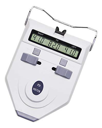 Huanyu Optische PD-Messgerät Digitaler PD Meter 45~82mm Pupille Entfernungsmesser 0,5mm Genauigkeit Pupillendistanzmesser Optometrie Ausrüstung (LY-9A: Batterietyp)