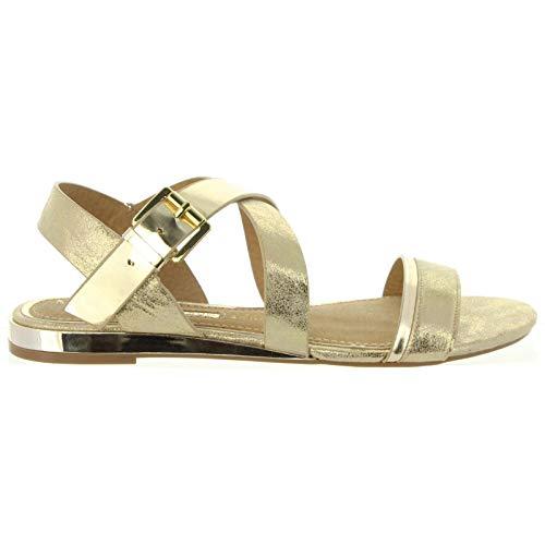 Maria Mare Sandalen für Damen 66819 C34965 Champagne Schuhgröße 36