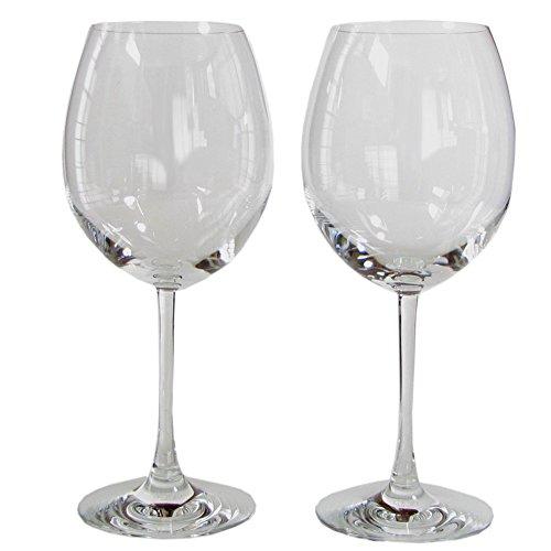Baccarat Oenology Grand Bordeaux-Weingläser, 2 Stück, ohne Farbe
