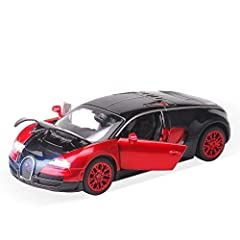 High quality - Using high grade zinc alloy an organic die-cast into form,elaboration by 24 processes and polish again and again,which makes the car exquisite just as a handicraft! Environmental protection coating - made of non-toxic water-based paint...