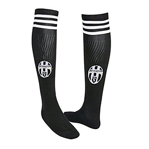 FOOT-ACC Juventus Team Home Soccer Socks for Mens Black Fan Athletic Gift Sports Socks 2017-2018
