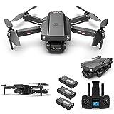 YEEWA HJ188 GPS 4K Dual Camera Drone con Motore Brushless, 5G WiFi FPV Drone con Funzione Follow Me,...