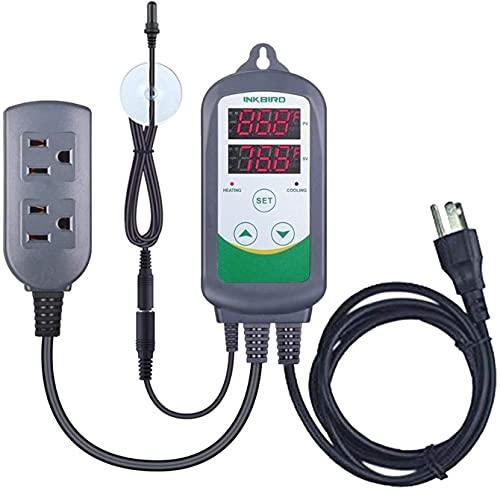 Ghongrm Piscina Profesional Herramienta Limpia Calefacción/refrigeración Controlador automático de Temperatura con una...