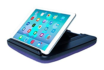 Prop  n Go Slim - Adjustable Bed Holder & Lap Stand for iPad iPad Mini Tablets and eReaders with Multi Angle Control  Purple