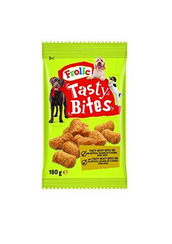 Bolsita de 180g de Tasty Bites para perros | [Pack de 11]