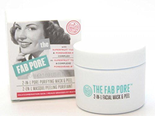 Soap And Glory The Fab Pore Facial Peel 2 In 1 Pore Purifying Mask And Peel 50ml by Soap & Glory