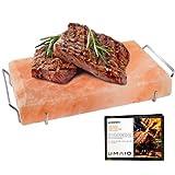 UMAID Natural Himalayan Salt Block Cooking Plate 12 X 8 X 1.5 for...