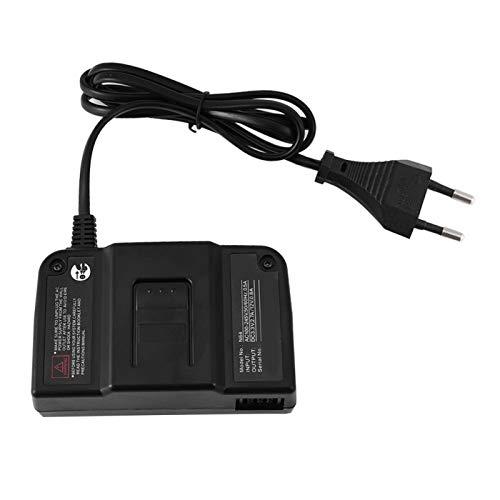 Adaptador de Corriente de Repuesto Resistente al Desgaste para Nintendo 64 Adaptador de Corriente para N64((European Standard 100-240V))