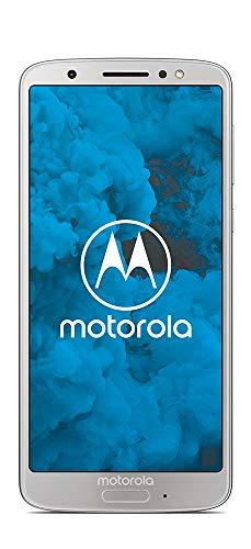 Motorola Moto G6 64GB - Smartphone Libre Android 9 Ready (Pantalla de 5.7'', 4G, Cámara DE 12 MP, 4 GB de RAM, 64 GB, Dual Sim), Color Plata