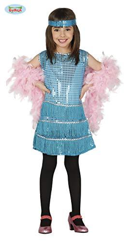 Guirca Rudy Disfraz Charleston 10/12aos, Color Azul, 1012, 81553
