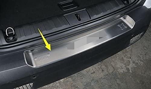 auße nbreich carga puede Ten–Acero inoxidable posterior placa protectora orejeras de ladekannte para Jeep Renegade Plata/1pieza