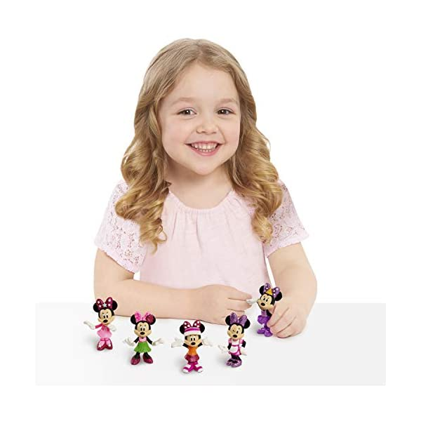 Just Play Disney Minnie Mouse Collectible Figure Pack Set 3