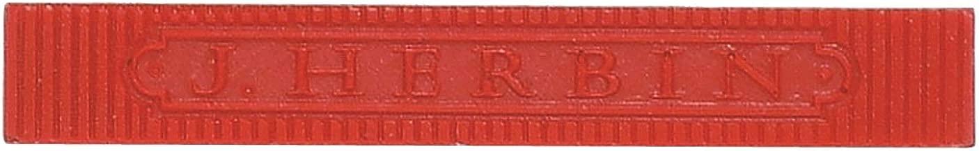 Herbin Supple Wax - 3 3/8 x 3/8 x 3/8 - Red