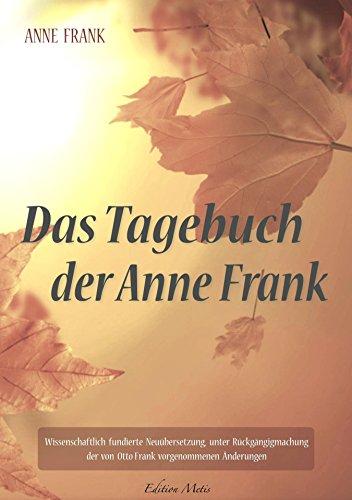 Das Tagebuch der Anne Frank (German Edition)