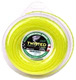 Maxpower 338807 Premium Twisted Trimmer Line .080-Inch Twisted Trimmer Line 140-Foot Length,Yellow