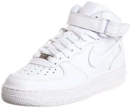 Nike Air Force 1 - Zapatillas deportivas para adultos (talla M), color Blanco, talla 36.5 EU