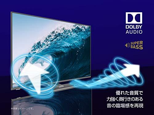 『ハイセンス Hisense 50V型 液晶 テレビ 50A6500 4K 動画アプリ対応 直下型LED』の5枚目の画像