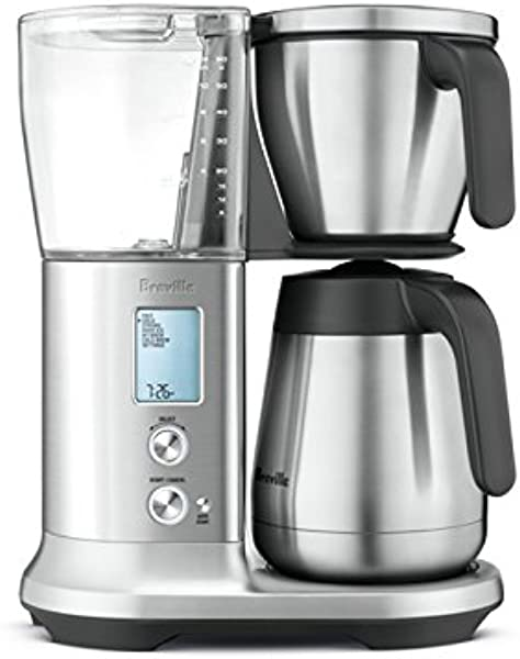 Breville Precision Brewer Pid Temperature Control Thermal Coffee Maker W Pour Over Adapter Kit BDC455BSS