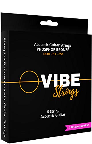Vibe Acoustic Guitar String Set