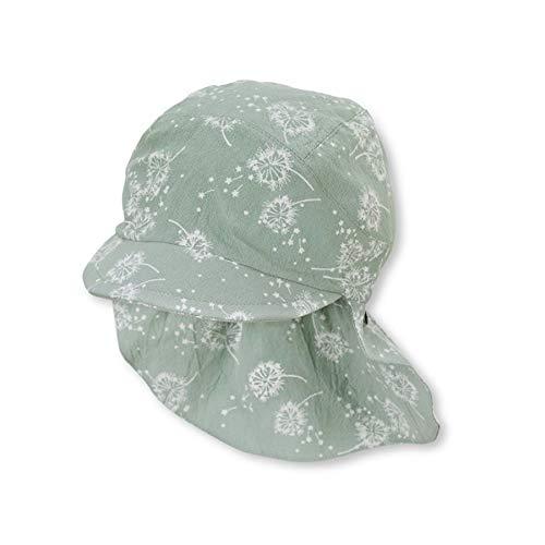 Sterntaler Baby M dchen Schirmmütze M. Nackenschutz 1422122 Winter Hut, Türkis, 49 EU