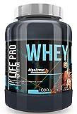 Life Pro Whey 1Kg | Suplemento Deportivo, 78% Proteína de Concentrado de Suero, Protege Tejidos, Anticatabolismo, Crecimiento Muscular y Facilita Períodos de Recuperación, Sabor Chocolate Croissant