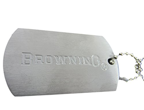 Signature Collection Browning Dog Tag Necklace BGT1049
