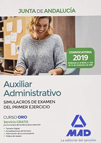 Auxiliar Administrativo de la Junta de Andalucía. Simulacros de Examen