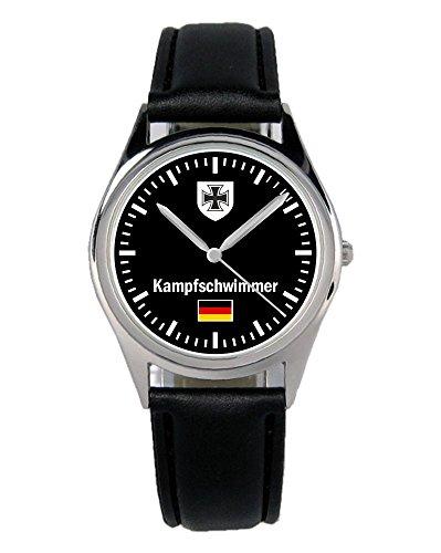 Soldat Geschenk Bundeswehr Artikel Kampfschwimmer Uhr B-1053