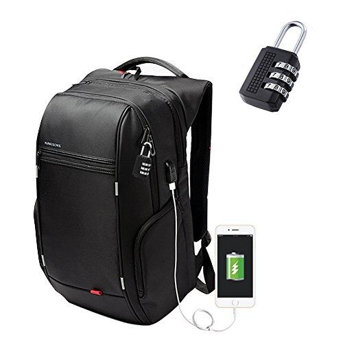 2. INKERSCOOP Mochilas para Portátiles Hasta 17 pulgadas – La mochila con los mejores accesorios