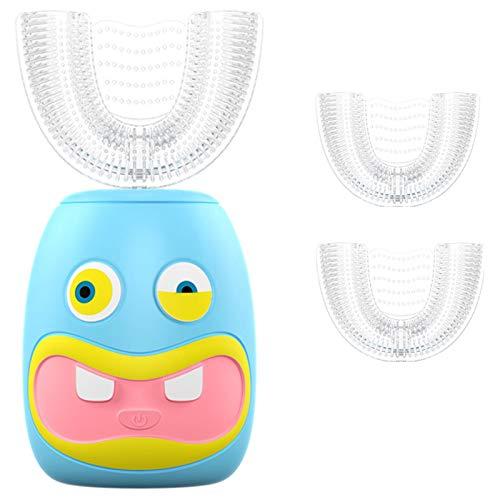 futureyun Cepillo de dientes eléctrico recargable para niños, cepillo de dientes eléctrico...