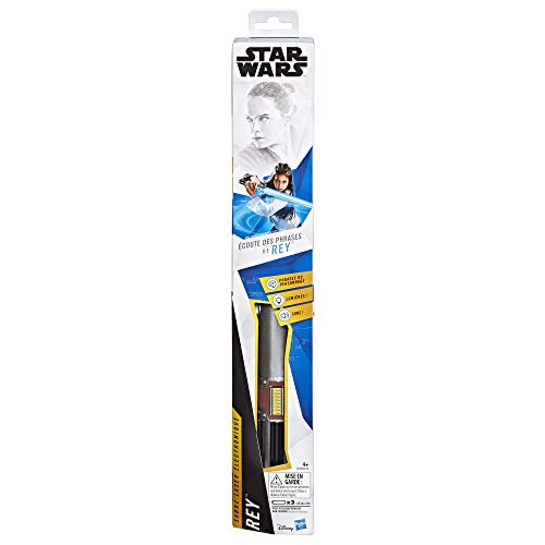 Star Wars – Elektronisches Laserschwert blau von Rey – Spielzeug Star Wars