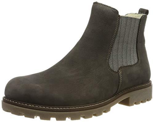 Remonte Damen D7457 Chelsea Boots, Grau (Smoke 45), 41 EU