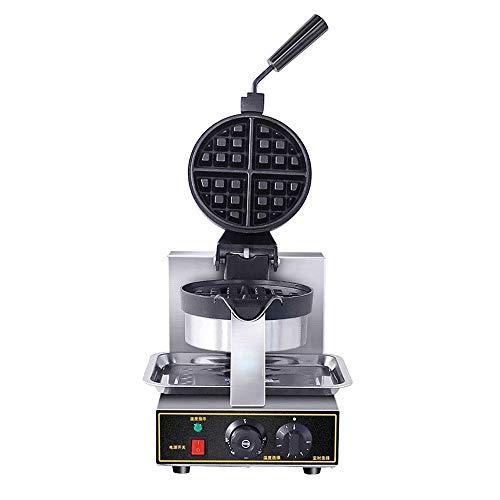 Waffeleisen Waffel-Hersteller 4 Scheibe belgische Art-elektrische Maschine mit Non-Stick-Platten, einfach zu bedienen leicht zu reinigen und QuickKnob Temperaturregelung Double-Layer Temperiergeräte