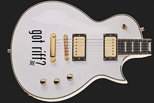 buenos comparativa Pegatina de vinilo de hoja para guitarra y bajo ¿Tiene una pegatina de vinilo para guitarra (negra)? y opiniones de 2021
