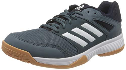 adidas Herren Speedcourt Rugby-Schuhe, Schwarz, 44 EU